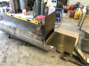 150 gallon Reverse Flow | Smoking Meat Forums - The Best