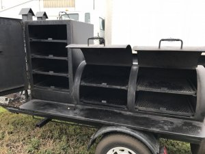 Texas quality built Gator Pit smoker for sale! Less than 1/2 price