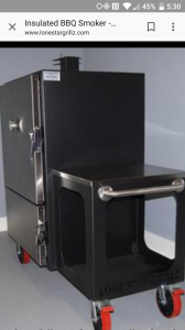 Lonestargrillz vertical insulated smoker | Smoking Meat Forums - The
