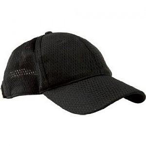 Chef Works BCCV-BLK Total Cool Vent Baseball Caps, Black