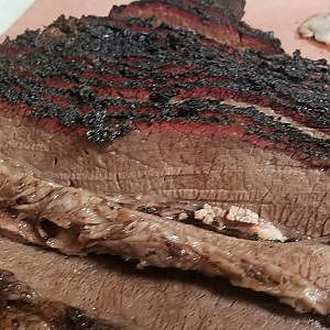 Snake River Farms smoked wagyu beef brisket