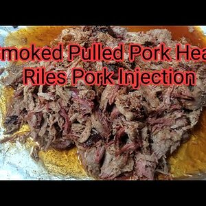 Smoked Pulled Pork With Heath Riles Pork Injection