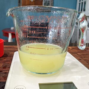 Fresh Squeezed Key Lime Juice