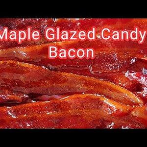 Maple Glazed Smoked Candy Bacon The Easy Way