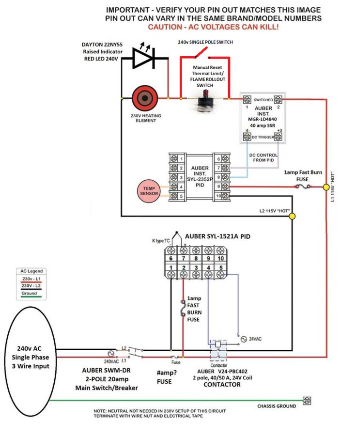 full ssr 240v wiring diagram gfci outlet installation diagram, home fotek ssr wiring diagram at n-0.co