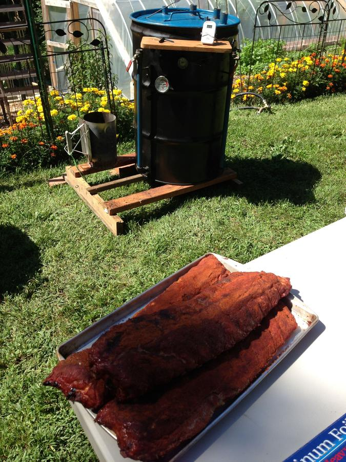 Ribs ready for foiling.JPG