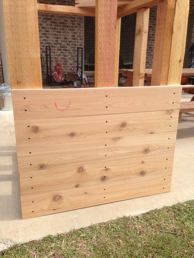 Cedar smokehouse construction   Smoking Meat Forums - The ... on meat smokers, frig plans, smoke house plans, smoker plans, meat chicken coop plans, meat smoking and smokehouse design, outhouse plans,