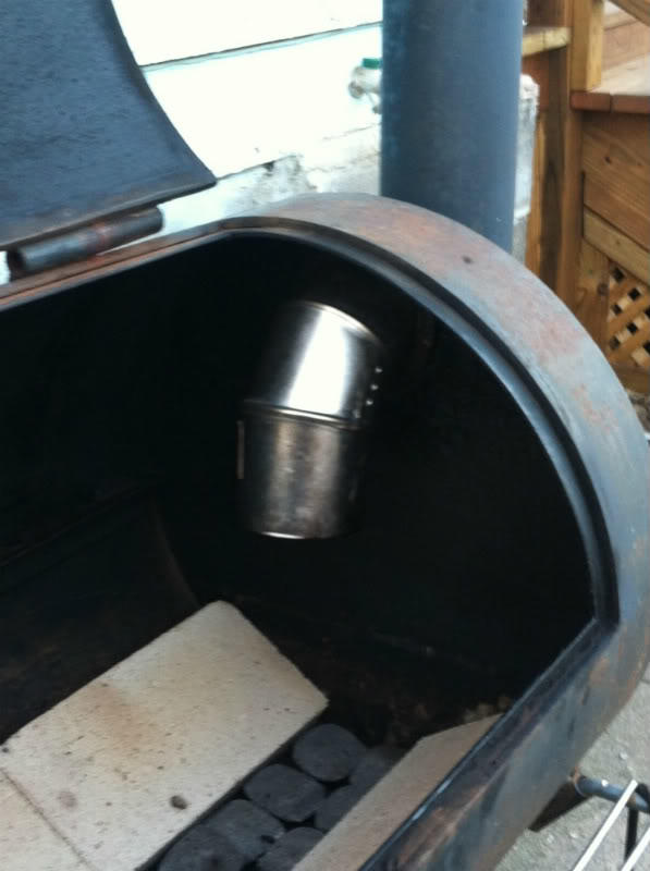 Mods on my old Brinkmann Smoker | Smoking Meat Forums - The