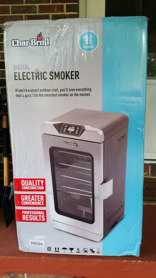 Char Broil Deluxe Digital Electric Smoker Smoking Meat Forums The Best Barbecue Discussion Forum On Earth