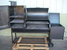 Old Country BBQ Pits All-American Angus Smoker   Smoking