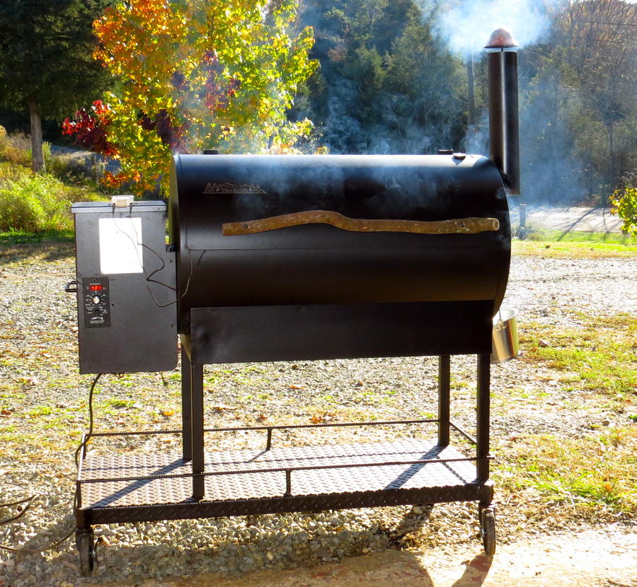 Traeger body and Smoke Daddy feeder | Smoking Meat Forums - The Best