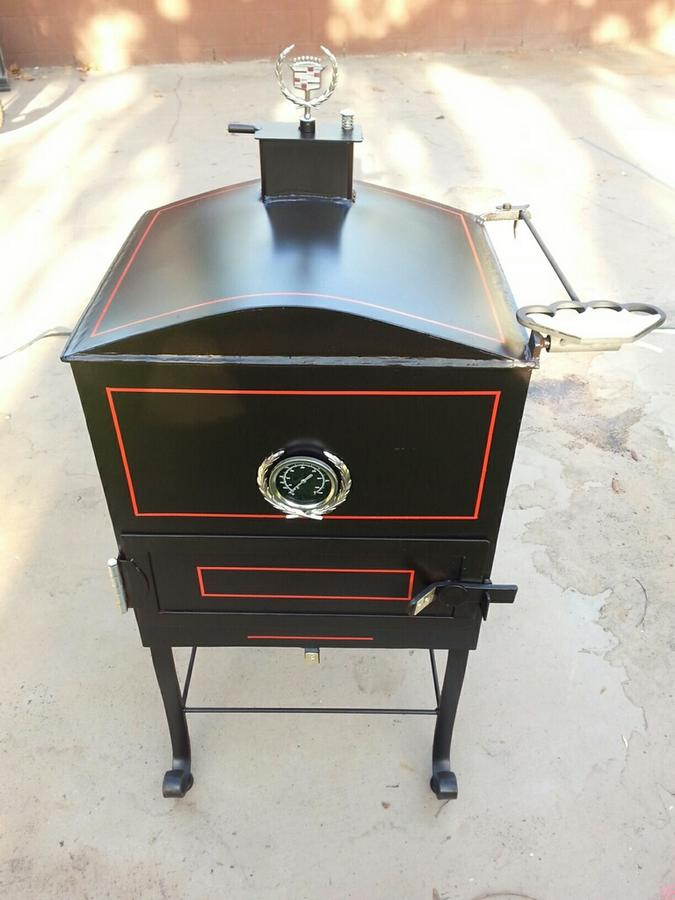 Vertical smokers: to reverse flow or not to reverse flow