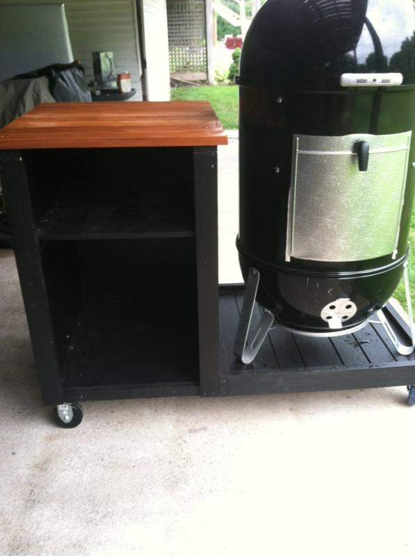 New 22 Wsm W Custom Cart Smoking Meat Forums The Best Barbecue Discussion Forum On Earth,Concrete Floors In Kitchen