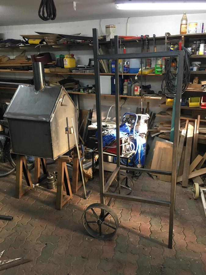 vertical insulated reverse flow smoker | Smoking Meat Forums
