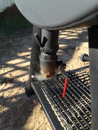 Oklahoma Joe first fire   Smoking Meat Forums - The Best Barbecue
