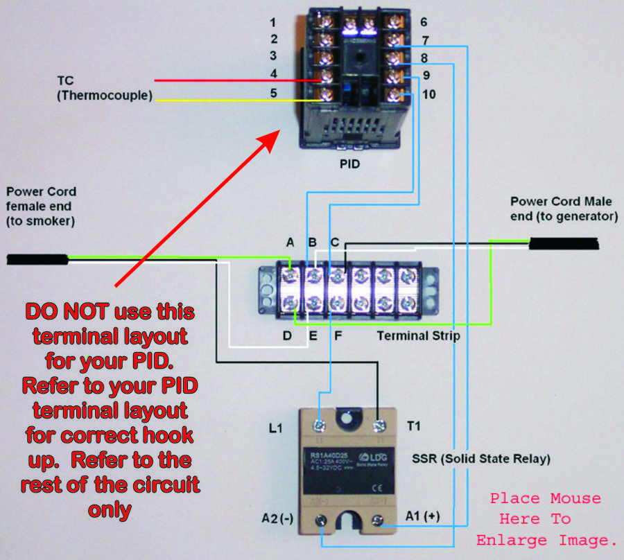 pid controller hook up help please smokingmeatforums rh smokingmeatforums com PID Controllers For Dummies 120V PID Controller Wiring-Diagram