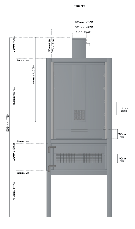 Vertical reverse flow insulated build - Advise and wisdom