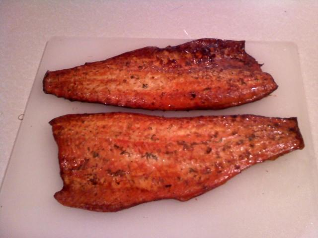 Smoked Steelhead